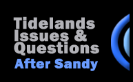 Tidelands Issues & Questions after Superstorm Sandy